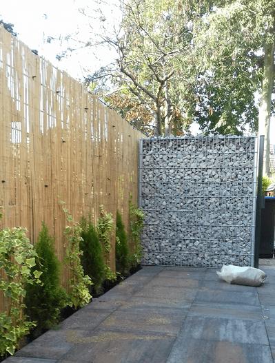 Ein Bambus-Zaun: Die Vorteile