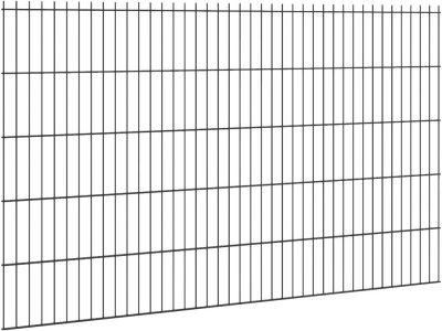 Doppelstabmattenzaun Ø 6/5/6 | 2.0 Meter breit