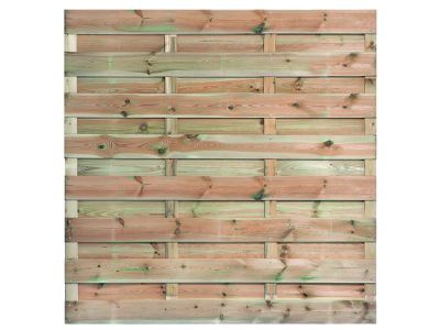 Kiefernholz-Gartensichtschutz | 15 Bretter | 180 x 180 cm