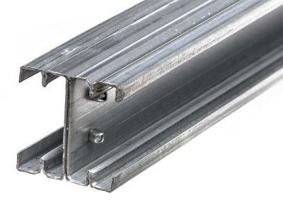 Zaunpfosten Stahl | 2 Längen | Zwischenpfosten