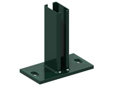Bodenplatten für Pfosten 6x4cm